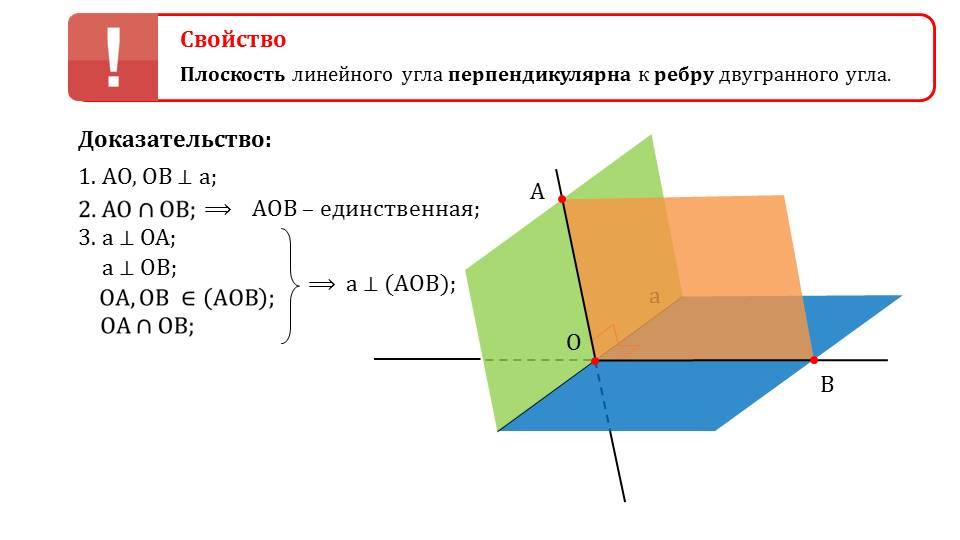 """Презентация """"Двугранный угол"""""""