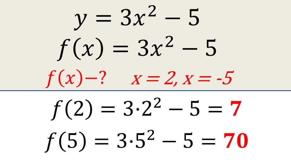 """Презентация """"Функция. Область определения и область значений функции"""""""