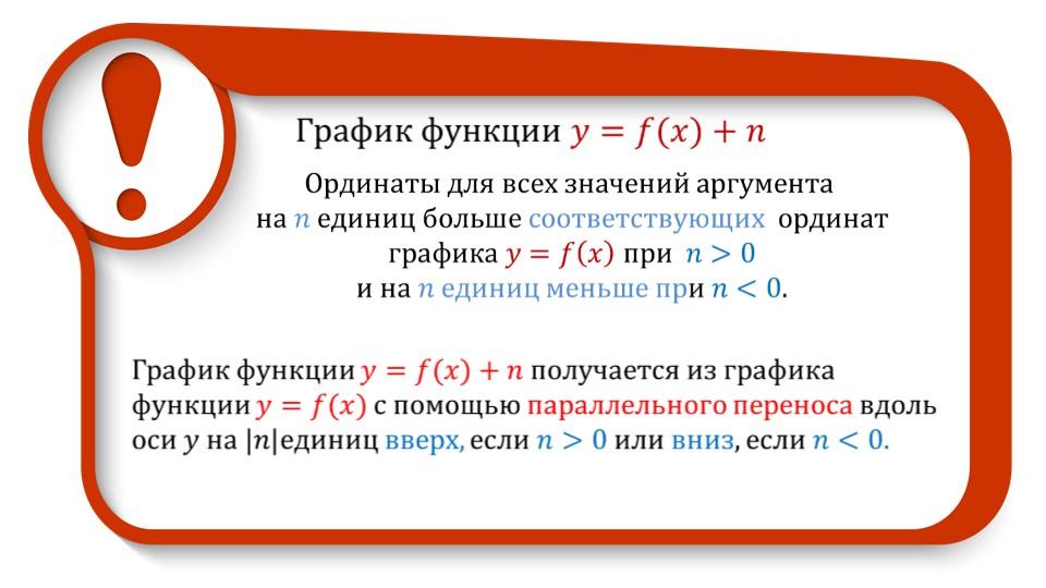 Презентация «Графики функций y=ax^2+n и y=a(x-m)^2»