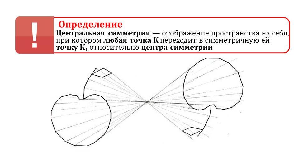 Как сделать центральная симметрия 44