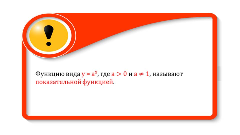 """Презентация """"Показательная функция, ее свойства и график"""""""