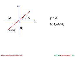 """Презентация """"Уравнение линии на плоскости"""""""