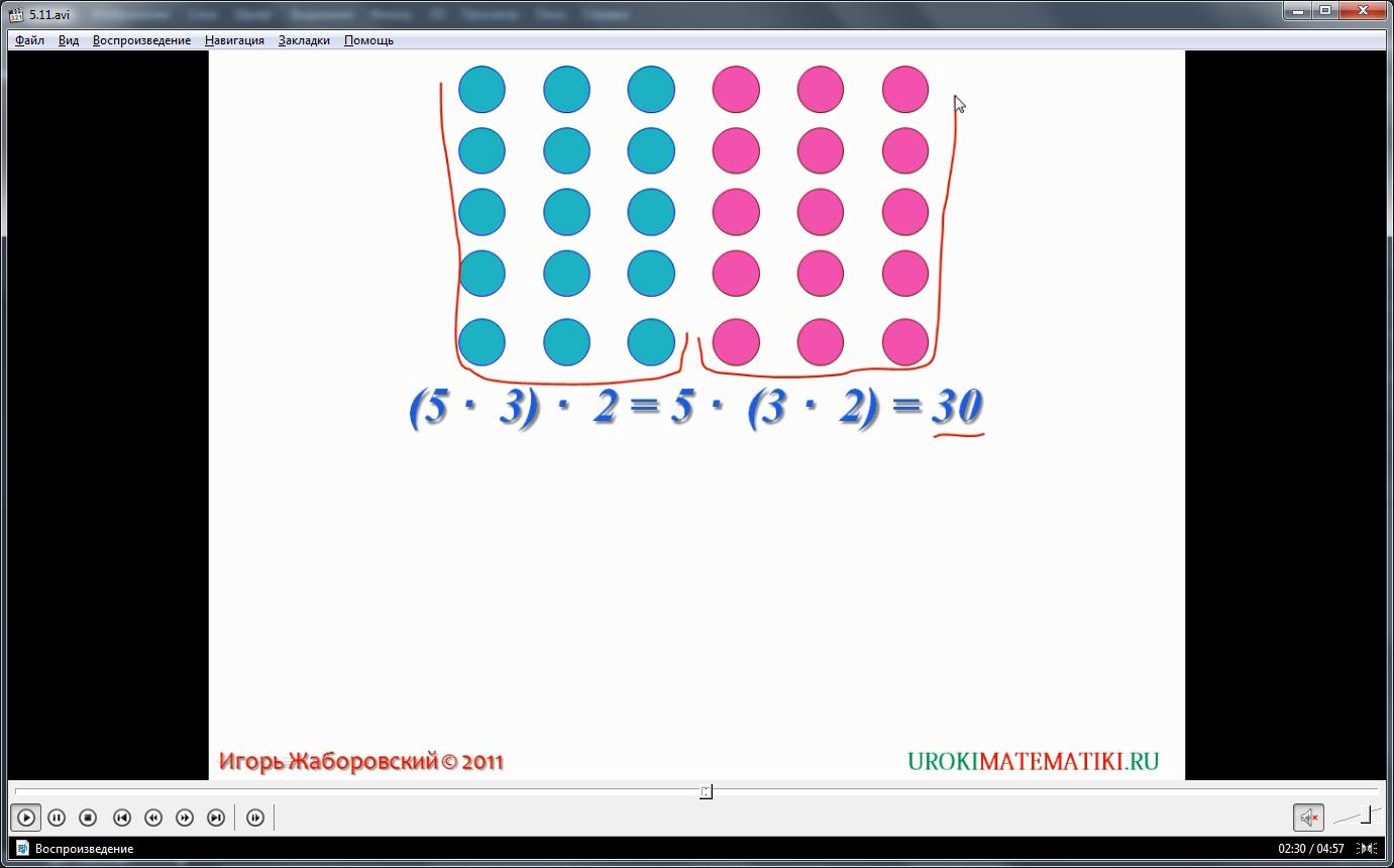 """Урок """"Умножение натуральных чисел и его свойства"""""""