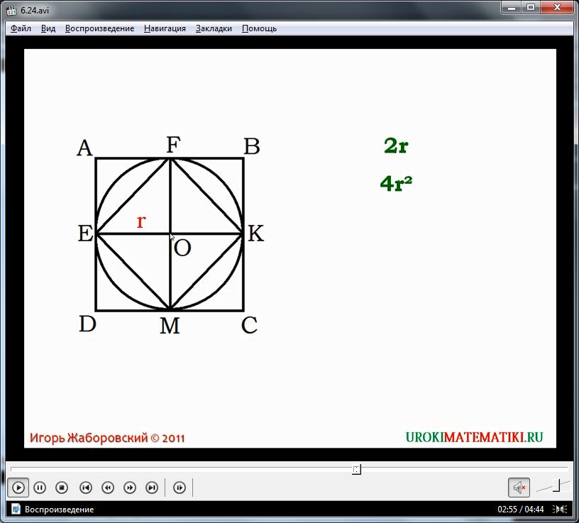"""Урок """"Длина окружности и площадь круга"""""""