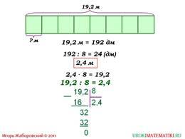 """Презентация """"Деление десятичных дробей на натуральные числа"""", слайд 2"""