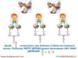 """Презентация """"Деление и дроби"""", слайд 2"""