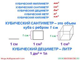 "Презентация ""Объемы. Объем прямоугольного параллелепипеда"", слайд 3"