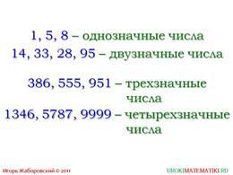 """Презентация """"Обозначение натуральных чисел"""", слайд 6"""