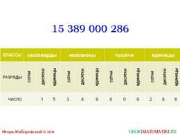 """Презентация """"Обозначение натуральных чисел"""", слайд 9"""