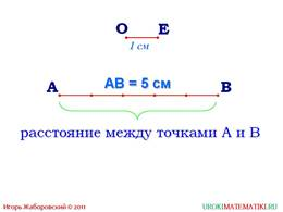 """Презентация """"Отрезок. Длина отрезка. Треугольник"""", слайд 5"""