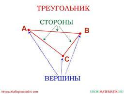"""Презентация """"Отрезок. Длина отрезка. Треугольник"""", слайд 7"""