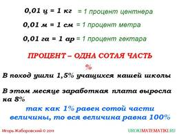 """Презентация """"Проценты"""", слайд 2"""