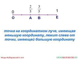 "Презентация ""Сравнение дробей"", слайд 5"