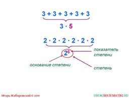 """Презентация """"Степень числа. Квадрат и куб числа"""", слайд 2"""