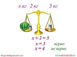 """Презентация """"Уравнение"""", слайд 2"""