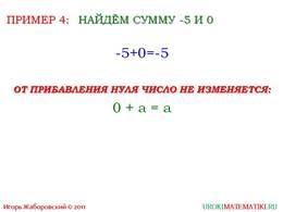 """презентация """"Сложение чисел с помощью координатной прямой"""" слайд 8"""