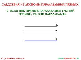"""Презентация """"Аксиома параллельных прямых"""" слайд 8"""