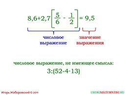 """Презентация """"Числовые выражения"""" слайд 4"""