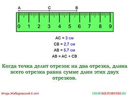 """Презентация """"Длина отрезка"""" слайд 7"""