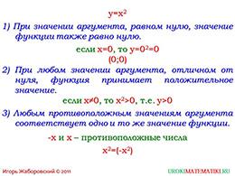 """Презентация """"Функция y=x^2. Степенная функция с четным показателем"""" слайд 3"""