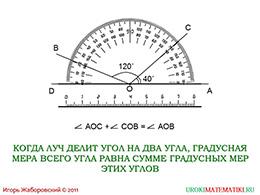 """Презентация """"Градусная мера угла"""" слайд 6"""
