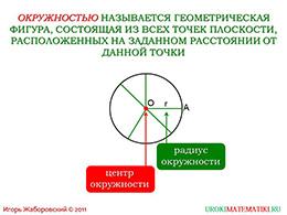 "Презентация ""Окружность"" слайд 2"