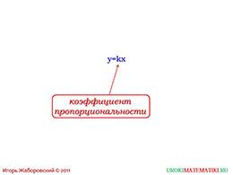 """Презентация """"Прямая пропорциональность"""" слайд 6"""