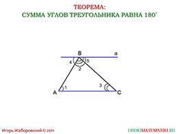 """Презентация """"Теорема о сумме углов треугольника"""" слайд 2"""