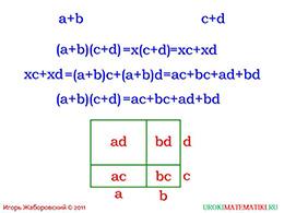 """Презентация """"Умножение многочлена на многочлен"""" слайд 2"""