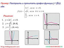 "Презентация ""Исследование функции на монотонность"" слайд 9"