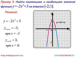 """Презентация """"Как построить график функции у=f(x)+m, если известен график функции у=f(x)"""" слайд 8"""