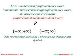 """Презентация """"Множество действительных чисел"""" слайд 2"""