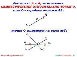 """Презентация """"Осевая и центральная симметрия"""" слайд 7"""