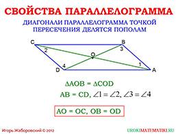 "Презентация ""Параллелограмм"" слайд 4"