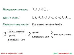 """Презентация """"Преобразование рациональных выражений"""" слайд 2"""