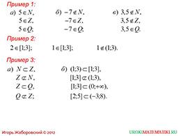 """Презентация """"Рациональные числа. Некоторые символы математического языка"""" слайд 4"""
