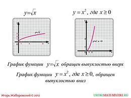 "Презентация ""Свойства функции y=√x"" слайд 4"