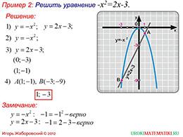 "Презентация ""Свойства функции y=kx^2 при k меньше 0"" слайд 6"