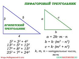 "Презентация ""Теорема, обратная теореме Пифагора"" слайд 3"